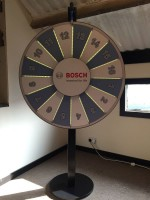 Bosch Custom Prize Wheel