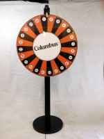 Columbus Custom Prize Wheel