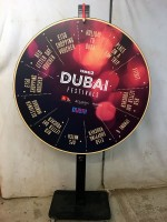 Dubai Custom Prize Wheel