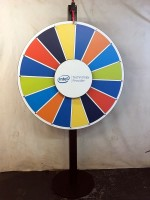 Intel Custom Prize Wheel