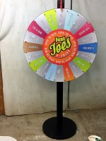 Just-Joes Custom Prize Wheel