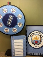 Manchester City Custom Prize Wheel