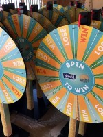 Sainsbury's Custom Prize Wheel